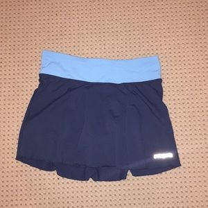 Size XS blue Patagonia skort